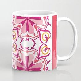 Lyrical Love Mandala Tiled - Pink Gold Coffee Mug