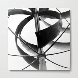 Windmill From Below Metal Print