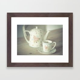 Time For Tea Framed Art Print