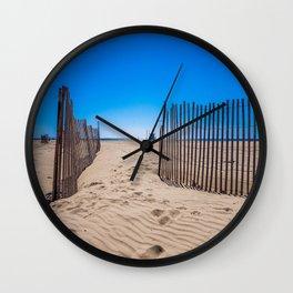 Sweat beach Wall Clock