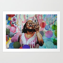 Sharon Jones Art Print