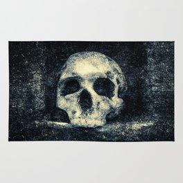 Old Skull - Memento Halloween Rug