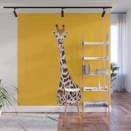 The Nose-picking Giraffe (no fingers needed) Wall Mural