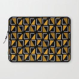 Bogolan malien - pattern black Laptop Sleeve