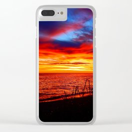 Red Sea at Dawn Clear iPhone Case