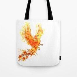 Fiery Phoenix  Tote Bag