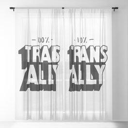 100% Trans Ally Sheer Curtain