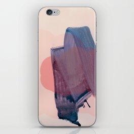 brush strokes 1 iPhone Skin