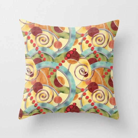 Europa Allover Design Throw Pillow