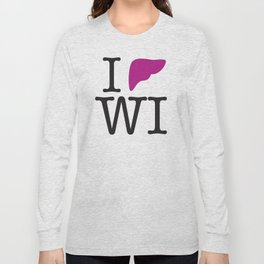 I Liver Wisconsin Long Sleeve T-shirt
