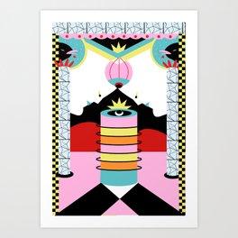 mental breakdown Art Print