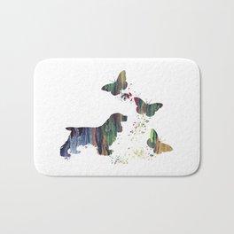Cocker Spaniel Art Bath Mat