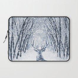 Winter deer Laptop Sleeve