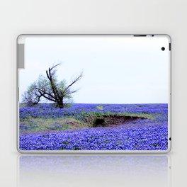 Lonely Tree & Bluebonnets Laptop & iPad Skin