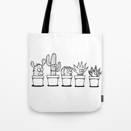 The Succulents Tote Bag
