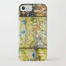 The Garden of Earthly Delights by Bosch iPhone 7 Slim Case
