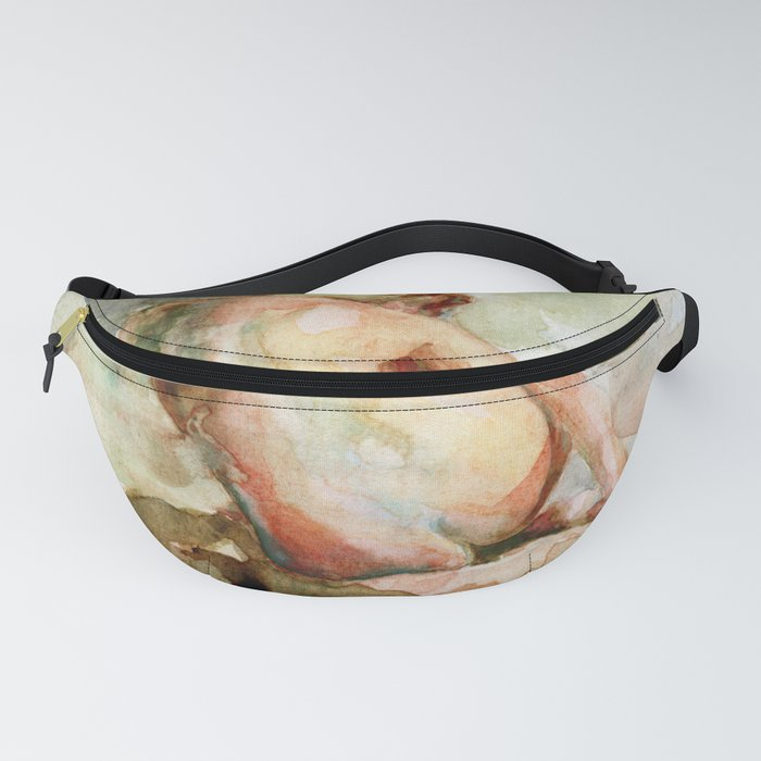 Watercolour Figure Fanny Pack