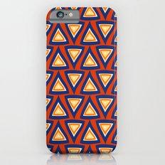 Blue Orange Triangles iPhone 6s Slim Case
