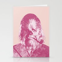 chewbacca Stationery Cards featuring Chewbacca by Les petites illustrations
