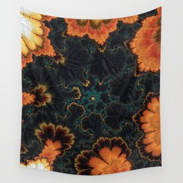 Pumpkin Patch Papi Wall Tapestry
