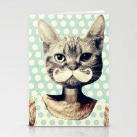 kitten Stationery Cards featuring Kitten by zumzzet