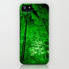 Electric Forest Green Slim Case iPhone (5, 5s)