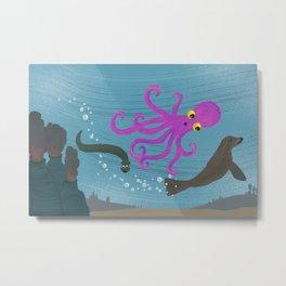 Underwater 1 Metal Print