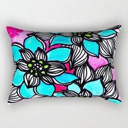 Flower Power 3 Rectangular Pillow