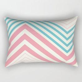 Diagonal stripes Rectangular Pillow