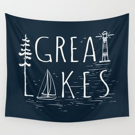 Great Lakes Wall Tapestry