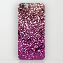 Sparkling BLACKBERRY CHAMPAGNE Lady Glitter #2 #decor #art #society6 iPhone Skin