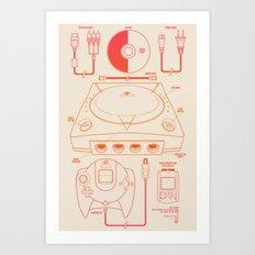 Dream Machine Art Print