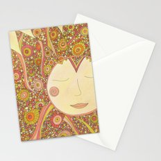 Even the Sun Needs a Nap Stationery Cards