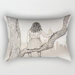 Climb Rectangular Pillow
