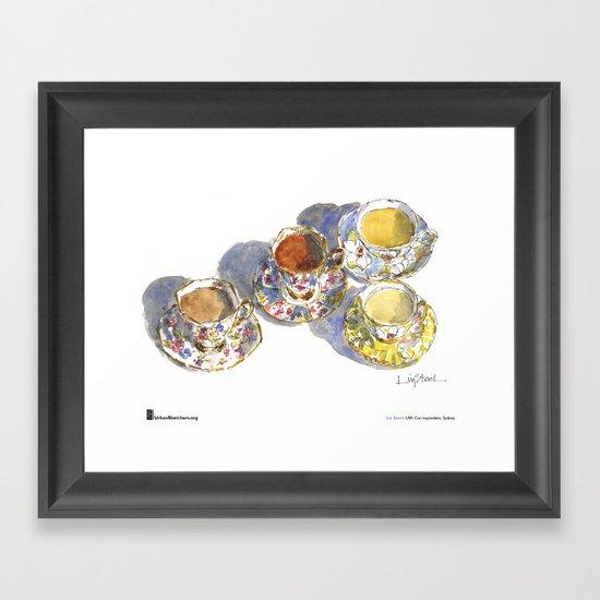 "Liz Steel, ""A Day in My Life"" Framed Art Print"