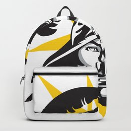 Tampa Sports V3 Black w/ yellow star Backpack