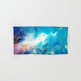 Stars Painter Hand & Bath Towel
