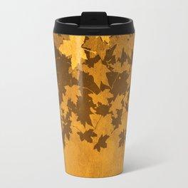 Leaves Falling Darkly Travel Mug