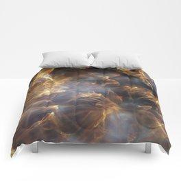 Glassy Refraction 1 Comforters