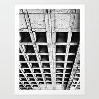 concrete Art Prints featuring Concrete by Cobo