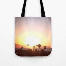 Sunrise & Palms Tote Bag