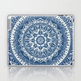 Blue Mandala Pattern Laptop & iPad Skin