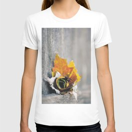 Leaf Rose T-shirt