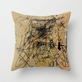 dithering 41 Throw Pillow