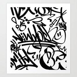 NY Street Art Print