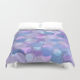 Pastel Pink and Blue Balls Duvet Cover