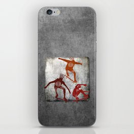 Skateboard Petroglyph iPhone Skin