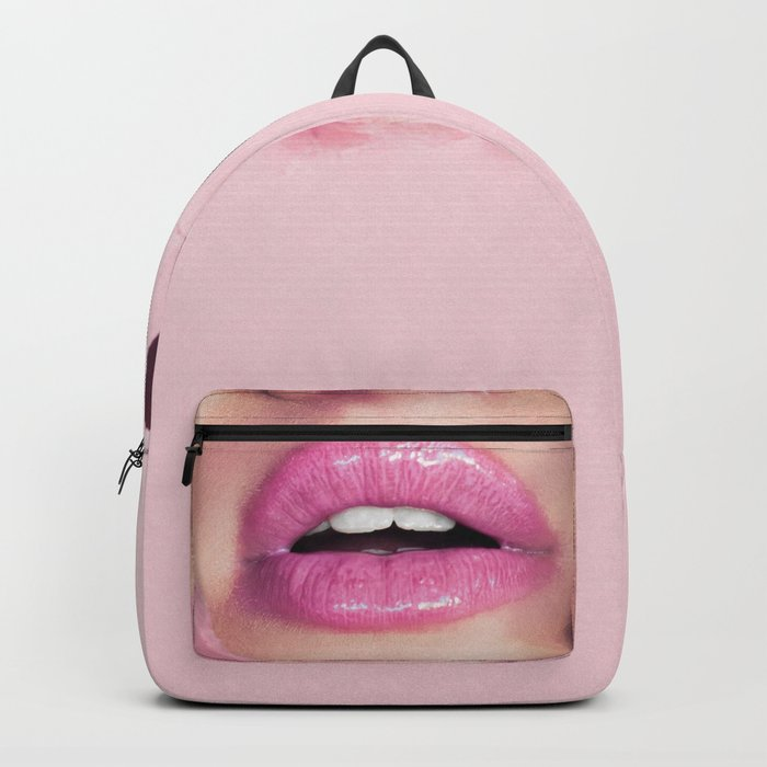 Mouth kiss Backpack