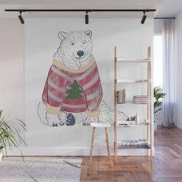 Beary Christmas Wall Mural