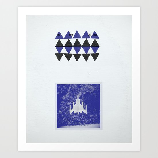 ...And They Scattered Art Print